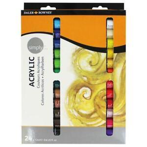 Simply Acrylic Set (24 x 12ml Tubes)