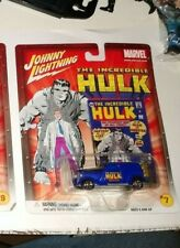 JOHNNY  LIGHTNING MARVEL THE INCREDIBLE HULK #7 '33 FORD DELIVERY PURPLE