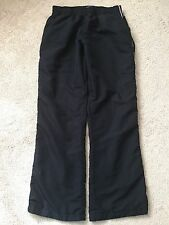 Reebok Woman's Pants Athletic Black SZ L Large Lined With Pockets