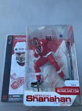 McFarlane Brendan Shanahan NHL Detroit Red Wings Series 4 Red Jersey VARIANT NIP