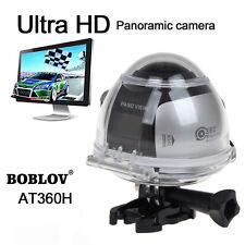 4K 360°Panoramic Ultra HD 2448*2448 30fps Camara Wifi Sport Driving Cam VR View