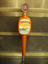 OTTER CREEK BREWING Co VT Solstice Session Ale Old School HEAVY Beer Tap Handle