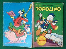 Walt Disney TOPOLINO n. 305 del 1 Ottobre 1961 con FIGURINE e BOLLINO ORIGINALE