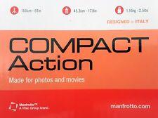 Manfrotto Compact Action Kit Trépied Aluminium Rotule Joystick