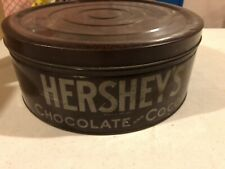 Large Vintage Hershey's Chocolate Cocoa Tin