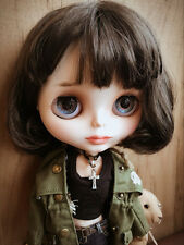 """30cm/12"""" Dark Brown Short Hair """"The Professional"""" Nude Blythe Doll From Factory"""