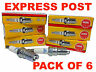 NGK SPARK PLUGS SET BPR6EY-11 X 6 - FORD FALCON AU II EF EL HONDA ACCORD CA