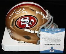Fred Warner signed Mini Helmet, San Francisco 49ers, BYU, Beckett BAS WB05584