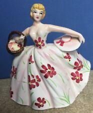 Samson Import Co Lady Basket Pink 1959 4360 Vintage