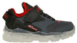 Skechers Kid's, Ice Lights: Arctic-Tron - Little Kid & Big Kid Color CHARCOAL Si