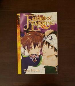 Faeries' Landing, Volume 1, by You Hyun (2004, Trade Paperback) [Manga, English]