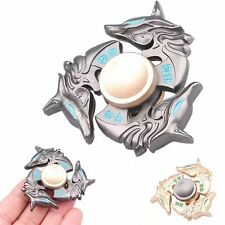 2017 Alloy Hand Spinner Tri Fidget Focus Toy EDC Finger Spin Gyro ADHD Autism