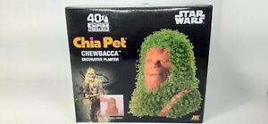 CHIA PET CP430-01 STAR WARS CHEWBACCA DECORATIVE PLANTER NEW,COMPLETE