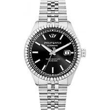 Orologio Philip Watch Caribe r8223597013 uomo watch acciaio automatico 41mm NERO