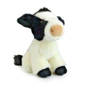LIL FRIENDS COW PLUSH SOFT TOY 18CM STUFFED ANIMAL BY KORIMCO