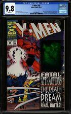 X-Men #25 CGC 9.8 NM/MT WP Hologram Cover! Key! Marvel Comics 1993