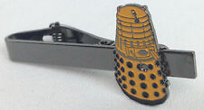YELLOW DALEK - Doctor Who BBC TV Series Logo - UK Imported Tie Clip Clasp