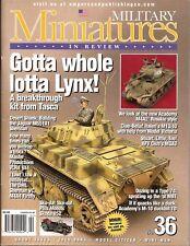 Military Miniatures In Review MMIR 36 Tasca Lynx M551A1 Sheridan Skoda 952 M3A3