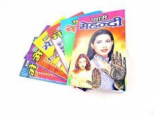 HANDMADE INDIA HENNA STENCIL DESIGN BOOK : 40 DESIGNS