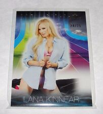 2017 Benchwarmer LANA KINNEAR Dreamgirls #50 Gold Foil/25 PLAYBOY Iron Man WOW