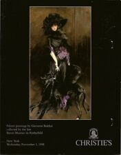 CHRISTIE'S Giovanni Boldini Paintings Rothschild Collection Auction Catalog 1995