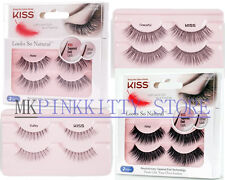 KISS Looks So Natural Double Pack Lashes - SET of 2   (Mix & Match)