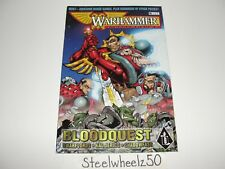 Warhammer Monthly #8 Comic Games Workshop 1998 Bloodquest Strategy Game RARE HTF