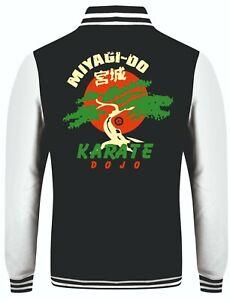 Miyagi-Do Varsity Jacket Cobra Kai Karate Kid Hoodie Mens Top ALL SIZES