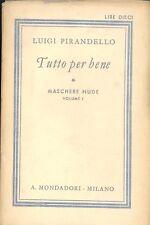 Pirandello: Tutto per bene 1939