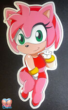"Original Amy Rose from Sonic the Hedgehog 6"" sticker"