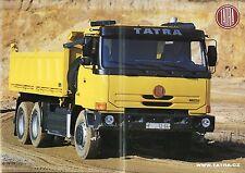 Prospekt GB Tatra T 815 2 Terr No 1 LKWs Nutzfahrzeugprospekt Lastwagenprospekt