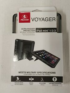 Pelican Voyager Ultra Rugged Protection Case w/ Stand for iPad mini 1 2 3