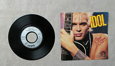 "S VINYLE 45T 7"" SP MUSIQUE PROMO / BILLY IDOL ""SWEET SIXTEEN"" 1986 CHRYSALIS"
