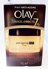 OLAY TOTAL Effects 7 IN ONE Anti-Ageing Eye Cream Moisturizer around Eyes 15ml