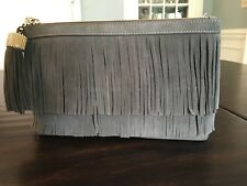 NWT INDIA HICKS Doual Bag In Army Double Fringe Drape LOVE!
