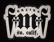 Set of 2 - FMF Racing Patch - White/Black