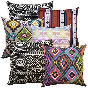 al Geometric Stripe Cotton Canvas Fabric Cushion Cover/Pillow Case*Custom Size*