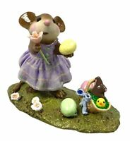 Wee Forest Folk Poppy's Easter Limited Edition 2006 M-321a