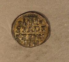 1755 German State Hildesheim 4 Pfennig Silver Nice   ** Free U.S. Shipping **