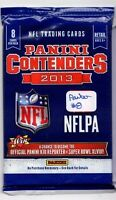 1-2013 PANINI CONTENDERS NFL AUTOGRAPH OR ROOKIE CARD AUTOGRAPH'S HOT PACK