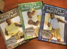 Dvd Billy's Boot Camp, Basic, Ultimate and Ab 3-Dvd set pre-owned