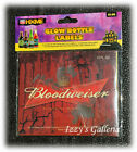 5x Packges Glow in the dark Bottle Labels Stickers Beer Glass Halloween Party