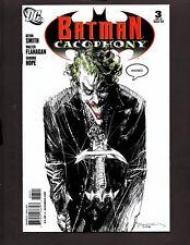 BATMAN CACOPHONY #3 Variant 1:25 Bill Sienkiewicz Joker 2009 Classic DC  NM/MT
