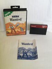 Sega® Master System™ Wanted™