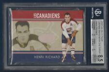 HENRI RICHARD 2001-02 BAP ULTIMATE MEMORABILIA LES CANADIENS /40 BECK 8.5  28960