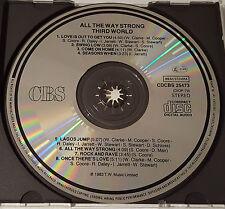 Third World - All The Way Strong, CBS CDCBS 25473, Matrix 35DP-79 11A1, Japan CD