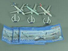 FLUGZEUGE: Star Alliance Airbus A330-300 (Teil 2) - Komplettsatz + 3 BPZ
