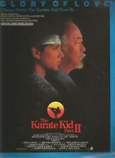 Glory of Love (Theme From The Karate Kid Part II) Sheet Music 1986