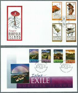 Norfolk Island. 2008-2009 - 6 F.D.C. With Stamps - SG1008 to SG1071.