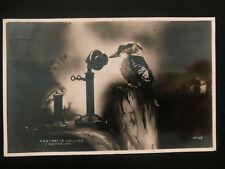 1937 Sydney Australia RPPC Postcard cover to Newark USA Australia Calling